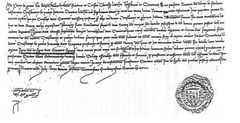 Privilegio otorgado Por Pedro IV a la ciudad de Barcelona (4 de julio de 1345)