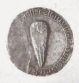 Sello de Milhau (en Francia) 1187