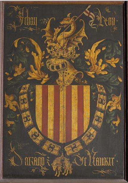 Toisón de oro de Juan II de Aragón.