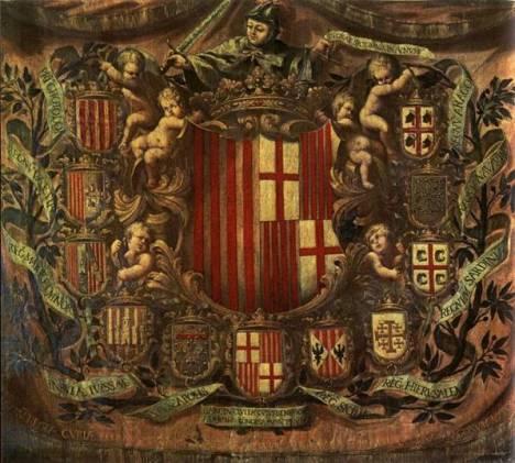 Apoteosis heráldica del Condado de Barcelona (1681)