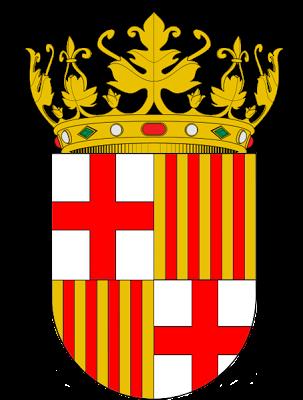 Armas del Principado de Cataluña