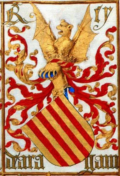 Armas del Rey de Aragón