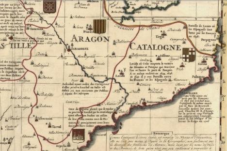Carte des Royaumes d'Espagne et de Portugal