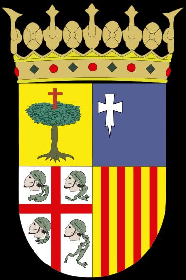 ESCUDO OFICIAL DE ARAGÓN