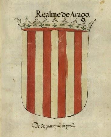 Nobiliario de Armas de Valencia, Aragón y Cataluña. S.XVI