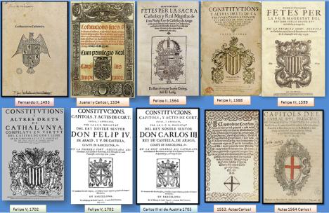portadas constituciones catalans