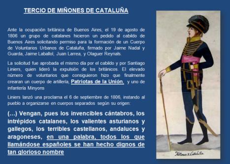 tercio de Miñones de Cataluña
